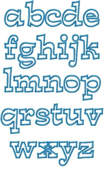 Good Graffiti Letters #8: Moldes-de-letras-en-foami-para-imprimir.jpg
