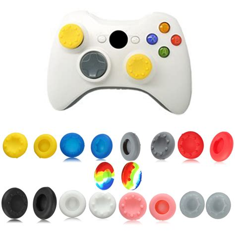 Analog Stik Stick Ps2 Besi analog stick silicone grip cap button covers for xbox 360 controller alex nld