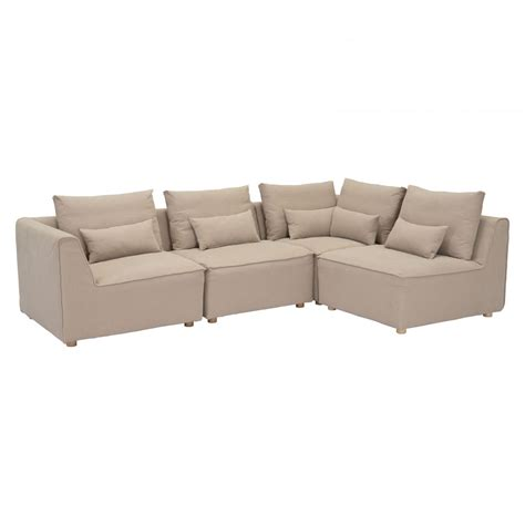 4 piece sectionals california 4piece sectional 100704pc zuo modern