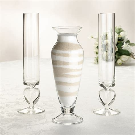 wedding unity ceremony vase set