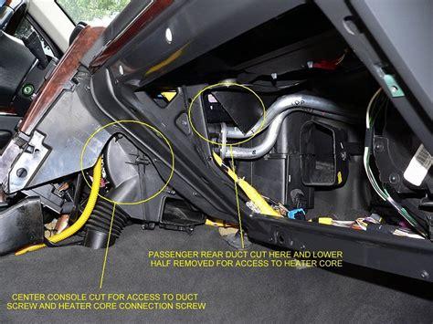 Evaporator Range Rover Limited fuite eau cote conducteur