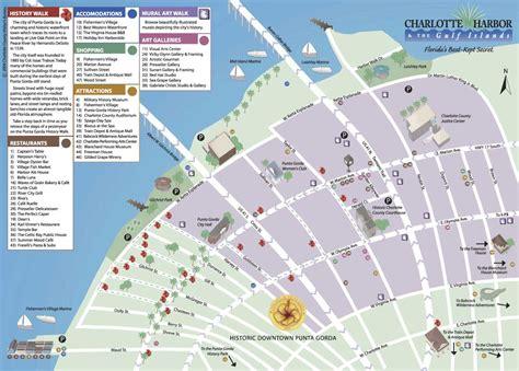punta gorda florida map map of historic downtown punta gorda