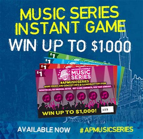 Instant Win Lotto - slash and aerosmith concert illinois lottery anything s possible music series is your ticket to