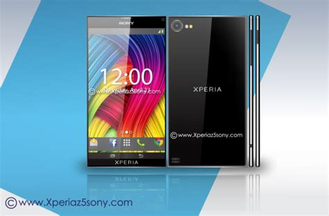 Hp Sony Z5 Ultra sony xperia z5 specs list and renders