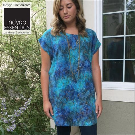 Simple Tunik 3 easy top tunict by indygo essentials indygojunction