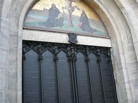 Wittenberg Door by 10 31 Is Reformation Day Redemption Ministry