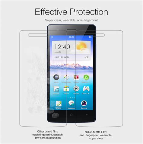 Nillkin Frosted Oppo Neo 5 A31t nillkin matte scratch resistant protective for oppo neo 5 a31