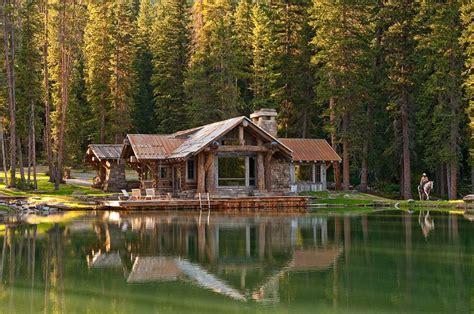 Cabin Retreats Idyllic Headwaters C Cabin By Dan Joseph Architects