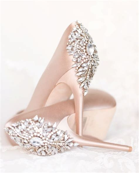 Wedding Shoes Embellished by Embellished Wedding Shoes Modwedding