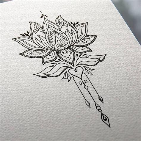 lotus pattern drawing lotus flower tattoo design mnd2 tattoo ideas