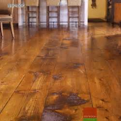 Distressed Rustic Wood Flooring - rustic oak flooring or distressed oak flooring