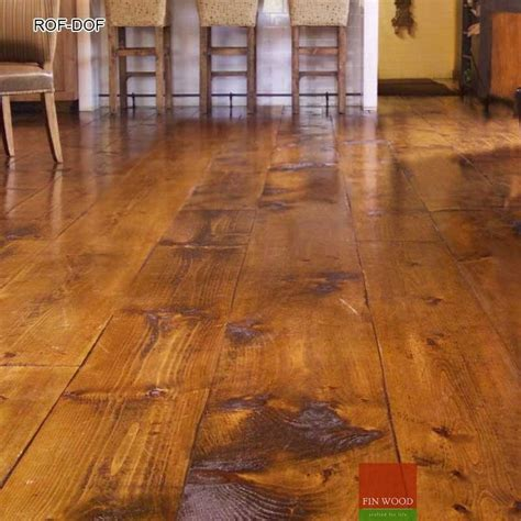 Distressed Plywood Floor - rustic oak flooring or distressed oak flooring