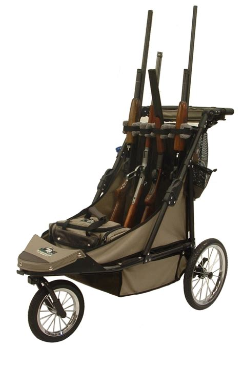 rugged gear cart deluxe 4 gun cart combo package
