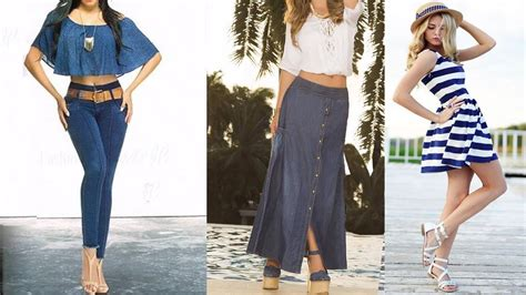 moda de jeans de damas 2016 tendencias 2016 ropa de moda para mujeres youtube