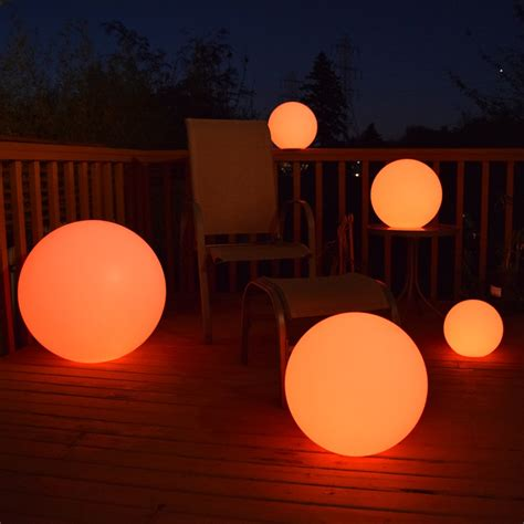 14 Quot Led Decoration Ball Eternity Led Light Balls