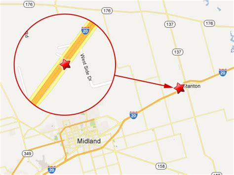 texas mile marker map semi truck near midland texas claims of 37 year corpus christi truck