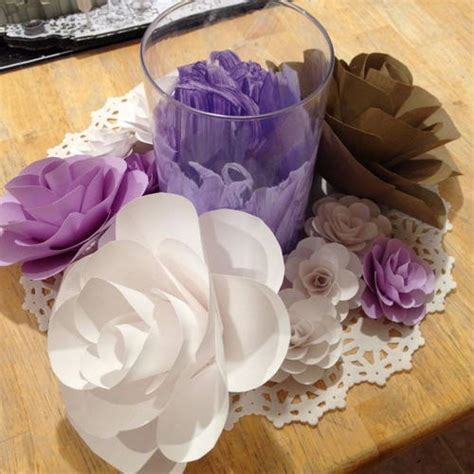paper flower tutorial cardstock any size cardstock paper flower tutorial