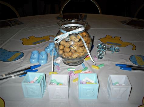 fish bowl baby shower centerpieces peanut and elephant baby shower project nursery