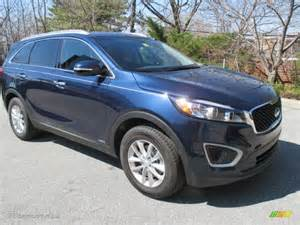 Kia Lx Blaze Blue 2016 Kia Sorento Lx Awd Exterior Photo