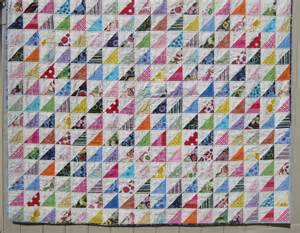 quilt squares and triangles