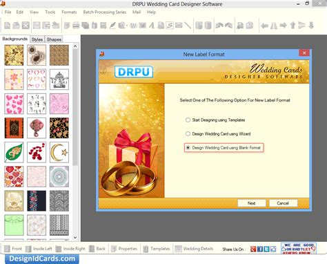 Drpu Wedding Card Designer Software Free by Wedding Card Designer Drpu Wedding Card Designer