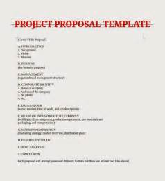Business Project Proposal Template April 2015 Samples Business Letters