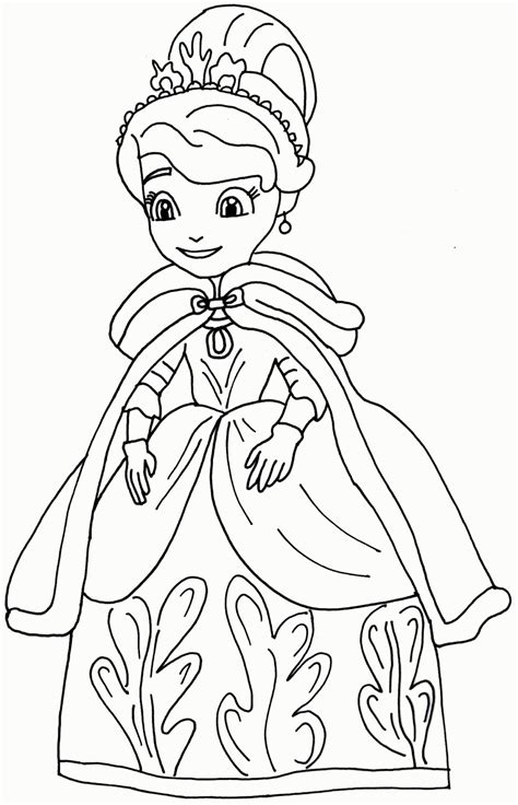 Colouring Pages Sofia The First High Quality Coloring High Quality Coloring Pages