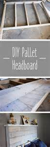 how to make a pallet headboard how to make your own diy pallet headboard