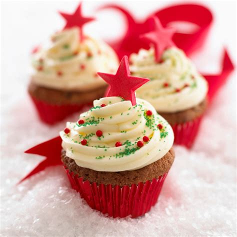 Homemade Christmas Decorations For The Home by 12 Bakes Of Christmas Easy Iced Cupcakes