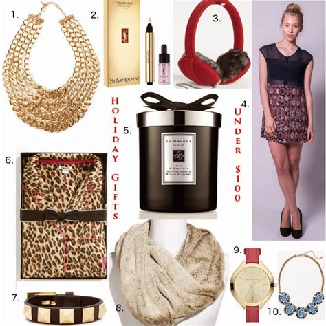 christmas presents under 100 dollars luxe for less 10 top gifts 100 covet acquire