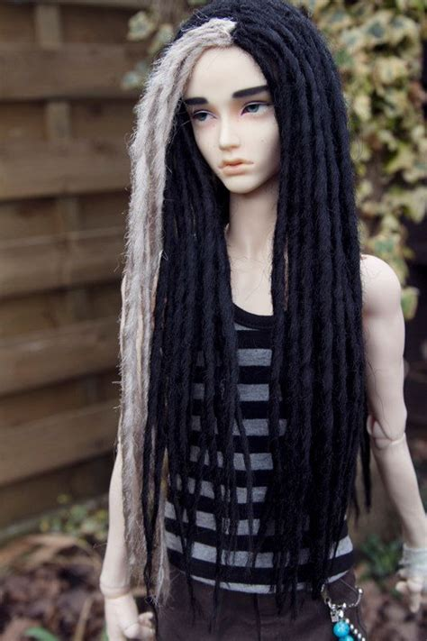 black doll with dreads i like these two colors together loc it up