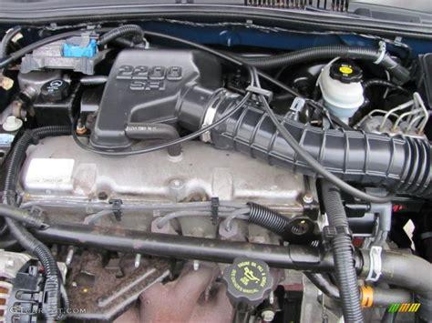 2002 Chevrolet Cavalier Ls Sedan 2 2 Liter Ohv 8 Valve 4