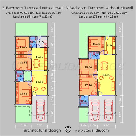 house layout plan malaysia house floor plans 50 400 sqm designed by teoalida