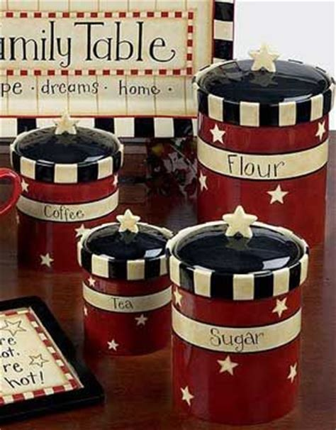 red canisters kitchen decor 1000 ideas about red kitchen decor on pinterest red