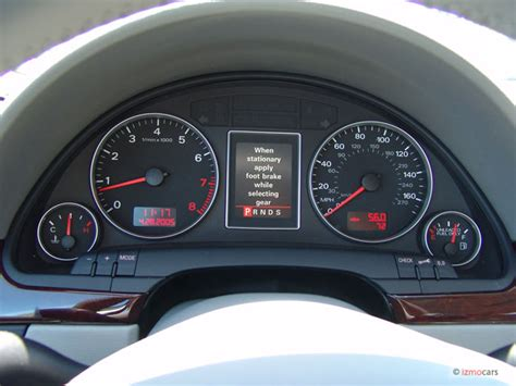 Remove Instrument Cluster From A 2002 Audi S8 Image