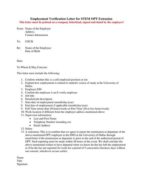verification of employment letter employment verification letter template doc choice image 1701