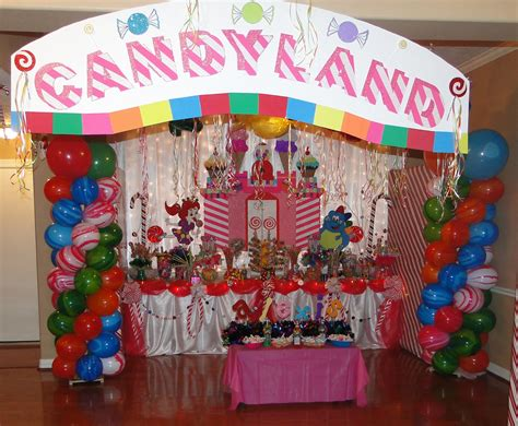 sweet themed event design candyland theme birthday party criolla brithday