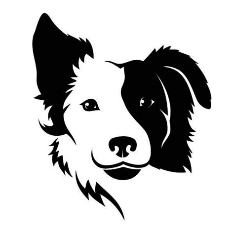 silhouette tattoo paper border collie silhouette svg search paper