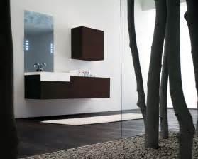 bathroom makeover photo: rustic bathroom design tiles metal effects wooden shelf house in vila