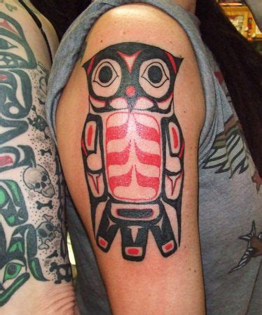 tribal owl tattoo pictures s ruin tattoos ine indian