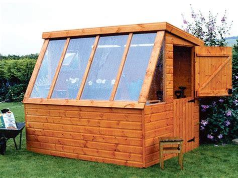 wooden garden sheds potting shed pennine fencing