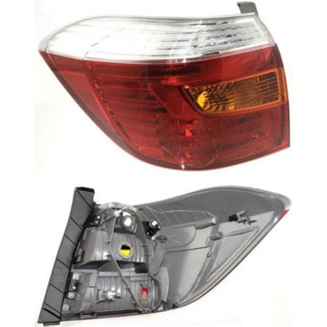 2004 toyota highlander tail light assembly toyota highlander rear tail light lens