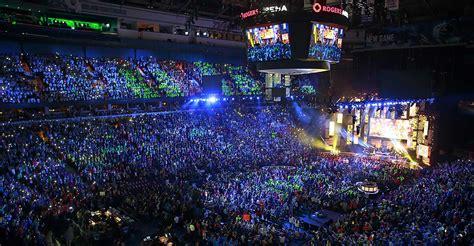 Mohegan Sun Arena Floor Plan by Rogers Arena