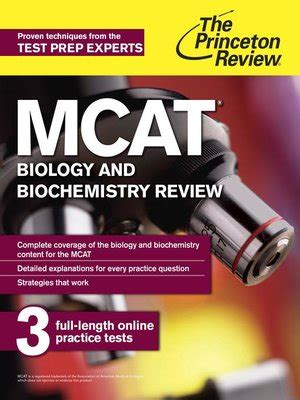 sterling test prep mcat biology biochemistry practice questions high yield mcat questions books mcat biology and biochemistry review by princeton review