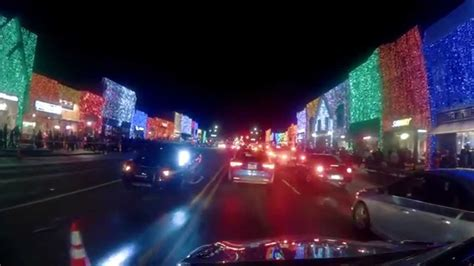 Christmas Lights Downtown Rochester Michigan Nov 23 Rochester Lights