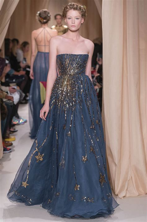 couture embellished denim trend 2015 valentino haute couture spring summer 2015 women s