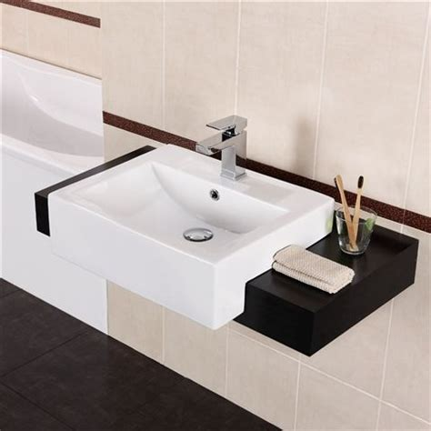 new bathroom vanity basins offer contemporary style 17 best ideas about semi recessed basin on pinterest