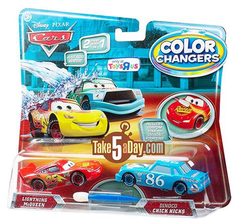 cars color changers take five a day 187 archive mattel disney pixar diecast