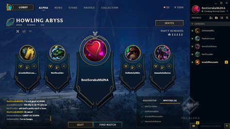 alpha test league client update briefly visiting the pbe for a pre