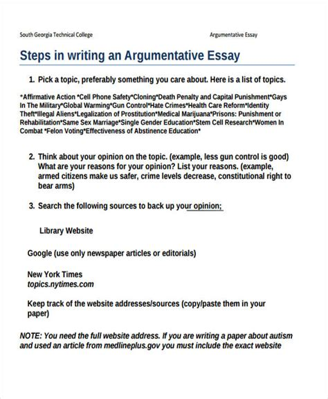 sle of a college essay argumentative essay sle college 28 images outline of